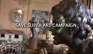 Save Super Art Campaign